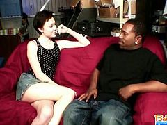 Teenie babysitter zoe voss down on a black schlong