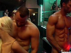 Drunk Sex Orgy brings you a hell of a free porn video where you can see how these naughty party chicks fuck and suck in club orgy while assuming very naughty poses.