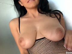 Boob Banger brings you a hell of a free porn video where you can see how the naughty brunette slut Evie Delatosso gets banged hard and deep into a massive orgasm.