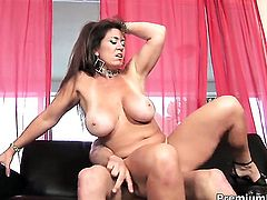 Anita Cannibal with massive tits is in the mood for fucking