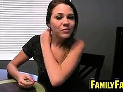 Horny Young Step Sister