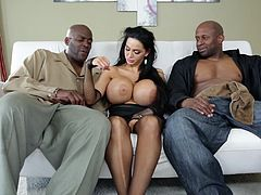 Interracial loving for sexy ladies in compilation video