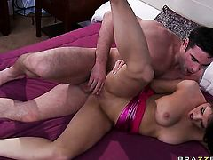 Brittney Banxxx and her horny Charles Dera fuck like rabbits