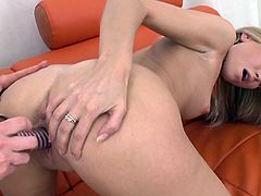 Make sure you check out this hot lesbian scene where these kinky ladies please one another as they shave each other.