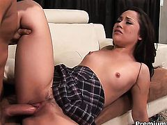 Kristina Rose is just in need of sexual pleasure and gets some