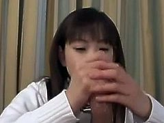 Japanese teen fucked and faced.
