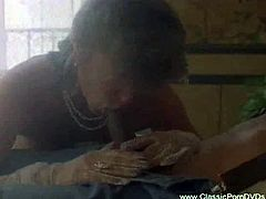Classic porn Dvds brings you a hell of a free interracial porn video where you can see how this vintage blonde slut gets banged by a black stud into a massive orgasm.