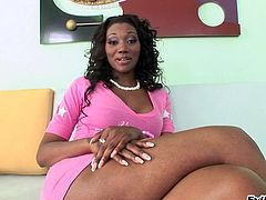 Nyomi Banxxx gets her black asshole licked and fucked deep