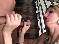 Thomas Stone loses control in anal frenzy with hot bang buddy David Perry before cock sucking