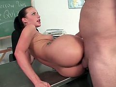 Katie St Ives fucked like a slut in classroom