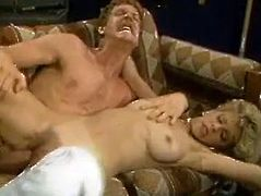 Gorgeous Jane Bond is banged brutally in a doggy position