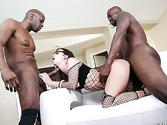 Prince Yahshua plays hide the salamy with Jada Stevens in steamy anal action