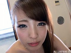 Make sure you check out out this hardcore video where this sexy Japanese babe sucks on a guy's cock before being fucked.