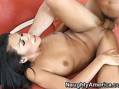Charles Dera gets pleasure from fucking Cassandra Cruz