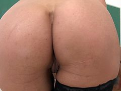 Make sure you check out this hot scene where the busty milf Shay Fox sucks on a big cock that ends up cumming on her slutty face.