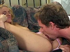 Hot blonde teen Kelly fucked hard after she got drunk.