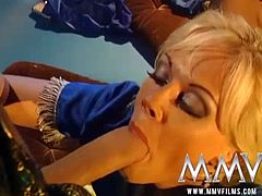 MMV FILMS Kelly Trump Double Penetration