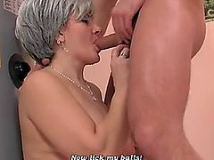 German mature woman wants to pay him to fuck her like a whore