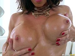 Jessica Jaymes is back to get her wild and wet pussy a huge cock to fuck her hardcore doggystyle.