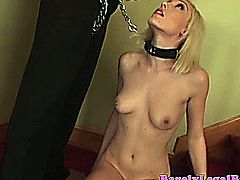 Lily LaBeau gets sprayed with jizzed