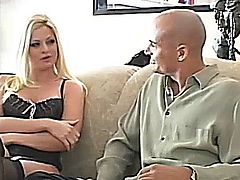 Blonde in black stockings - Sex And Other Stories Scene 6.
