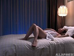 She likes to get fucked but she only have her toys to bang her shaved pussy hardcore in hot orgasm.