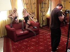 Stacy E and lesbian Silvia Saint have wild sex on cam for you to watch and enjoy