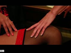 ClubLaly Sexy French Maids toying while at work!
