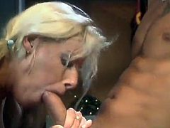 Horny pigtails cowgirl with natural tits in panties enjoys her shaved pussy being penetrated hardcore doggystyle in the locker room