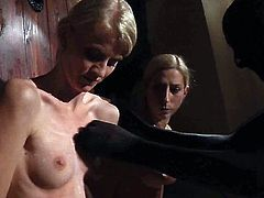 Subspace Land brings you a hell of a free porn video where you can see how these three blondes slaves get bound in the dungeon while flaunting their very sensual bodies.