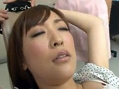Erotic asian dame has Sleaze not far from the Dentist and His Assistant