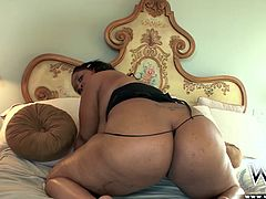 Sexy Phat takes things to the next level. She lets him fuck her tight phat ass.