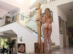Charley Monroe Gets Fucked Hardcore On The Staircase