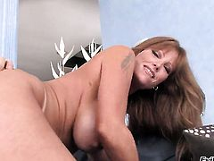 Johnny Sins plays with sexy asshole of Darla Crane after he fucks her hard