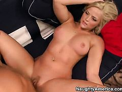 Mikey Butders plays hide the salamy with Alexis Texas