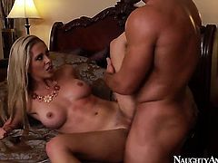Oriental is just in need of sexual pleasure and gets some in sex action with Johnny Castle