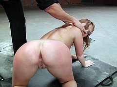 Maddy O'Reilly gets all her holes fucked deep in MMF video