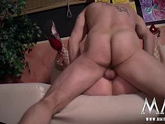 When no one is looking, a couple of swingers start a wild orgy backstage. These hot horny sluts get the party started by cumming off each others pussy´s.