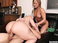 Carter Cruise cant resist the desire to have sensual lesbians sex with gorgeous Sara Jay