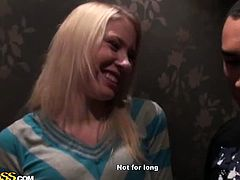 Blonde girl Iry turns dinner into fucking