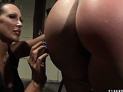 Blonde Mandy Bright is good on her way to satisfy her lesbian friend Chloe Bright
