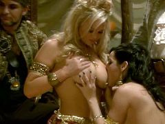 Digital Playground  brings you a hell of a free porn video where you can see how the alluring blonde Abbey Brooks enjoy this amazing pirate ship orgy where everything goes.