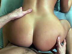 POV action with a great blowjob and a nice, hot fuck