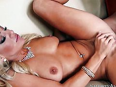 Exotic with trimmed pussy howls in sexual ecstasy with hot guy Johnny Castle