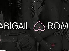 Abigail Mac and Romi Rain's Lesbian Anal Fantasies are about to come true