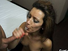Jessica hot is a horny brunette mature babe with big ass and nice tits.She only things about sex and loves to suck big cocks.Watch how this sexy milf gets her pussy fucked hard while she enjoys every inch of it!