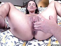 Lily Love has some dirty fantasies to be fulfilled in cumshot action