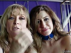 Nina Hartley plays along with Charli Piper, Natasha Voya, Gigi Allens, and Penelope Stone, as they barge in on Nina for slippery surprise visits in Nina Hartley Unscripted. This 46 minute feature brings you naked chats with the cast, including some very high-energy moments between rounds while three happy pussies cooled down, a few fun bits we couldn't leave on the cutting room floor, and all-around adorable behavior from five starlets buzzing on sexual chemistry!
