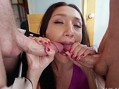 Vicki Chase double anal penetration