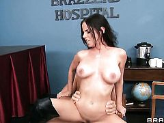 Brandy Aniston gets her booty dicked hard by Ramon